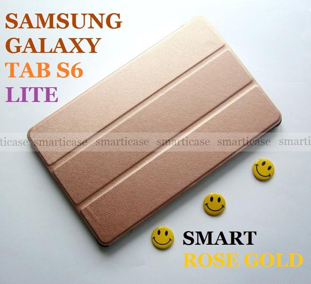 Samsung Galaxy Tab S6 Lite 10.4 чехол rose gold