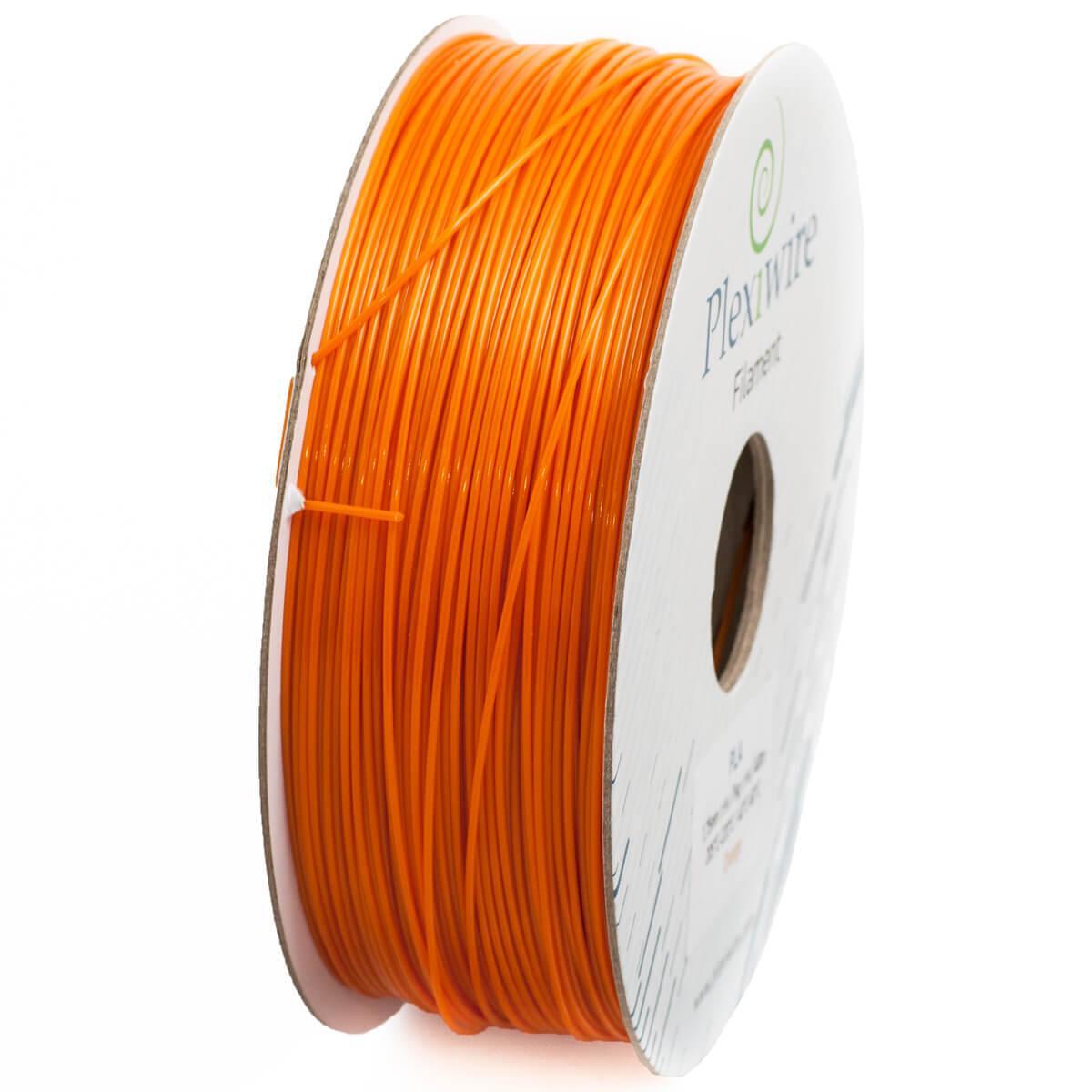 PLA пластик для 3D принтера 1.75 мм Помаранчевий (300 м / 0.9 кг)