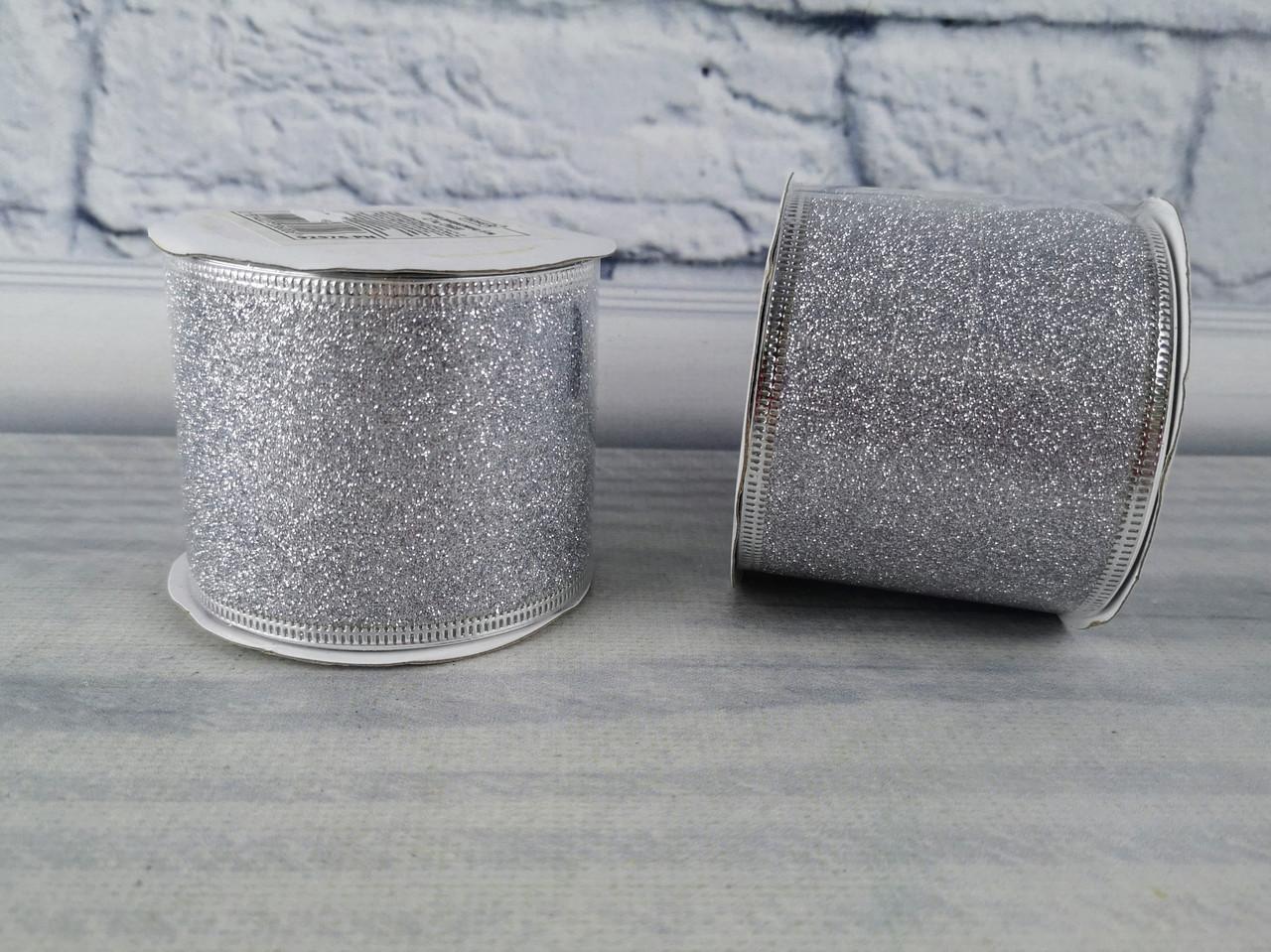 Лента декоративная 6 см 2,7 м Серебро 92576-PN 109683 Pioner
