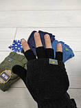 Перчатки-рукавиці без пальців  MozARt, фото 2