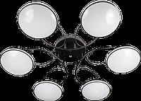 Люстра светодиодная Citilux 6X16W BK Черная