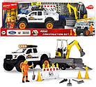 Игровой набор Playlife. Строительство дороги со звуковыми и световыми эффектами Dickie Toys 3838004, фото 6
