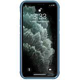 "Nillkin Apple iPhone 12/12 Pro (6.1"") Cyclops Case Blue Чехол Бампер, фото 3"