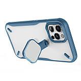 "Nillkin Apple iPhone 12/12 Pro (6.1"") Cyclops Case Blue Чехол Бампер, фото 8"