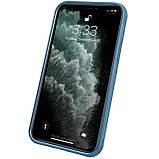 "Nillkin Apple iPhone 12/12 Pro (6.1"") Cyclops Case Blue Чехол Бампер, фото 7"