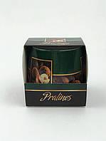 Свеча ароматизированная в стеклянном стакане, Bartek / Pralines: Truffle & Hazelnut, 30 часов горения