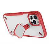 "Nillkin Apple iPhone 12/12 Pro (6.1"") Cyclops Case Red Чехол Бампер, фото 8"