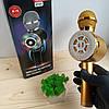 Беспроводной Bluetooth микрофон-караоке WS-669, золотой, фото 2