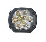 LED фары ОПТОМ от 2-х штук! Светодиодная лэд фара на 9 диодов. DC 9-85v, 15w., фото 2