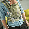 Эрго рюкзак для новорожденных ONE + Love & Carry Многофункциональн Рюкзак для переноски детей Анатомич Маямі