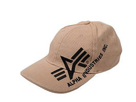 Бейсболка Alpha Big a Cross Cap Khaki