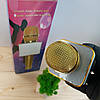 Беспроводной bluetooth караоке микрофон DM Q7 Karaoke Gold, фото 7