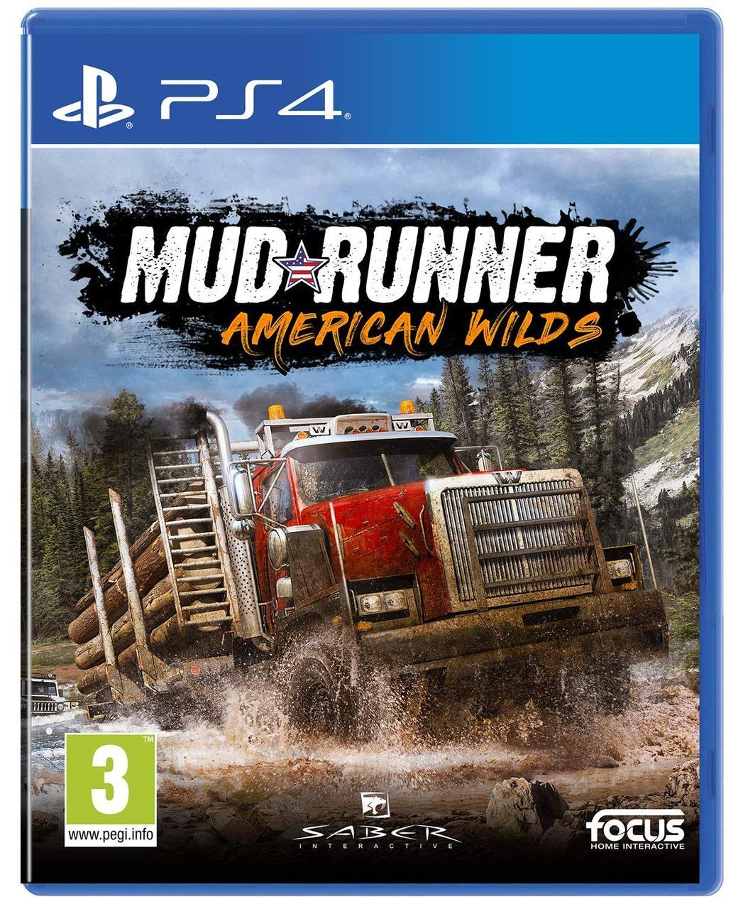 Spintires MudRunner American Wilds Edition (російські субтитри) PS4