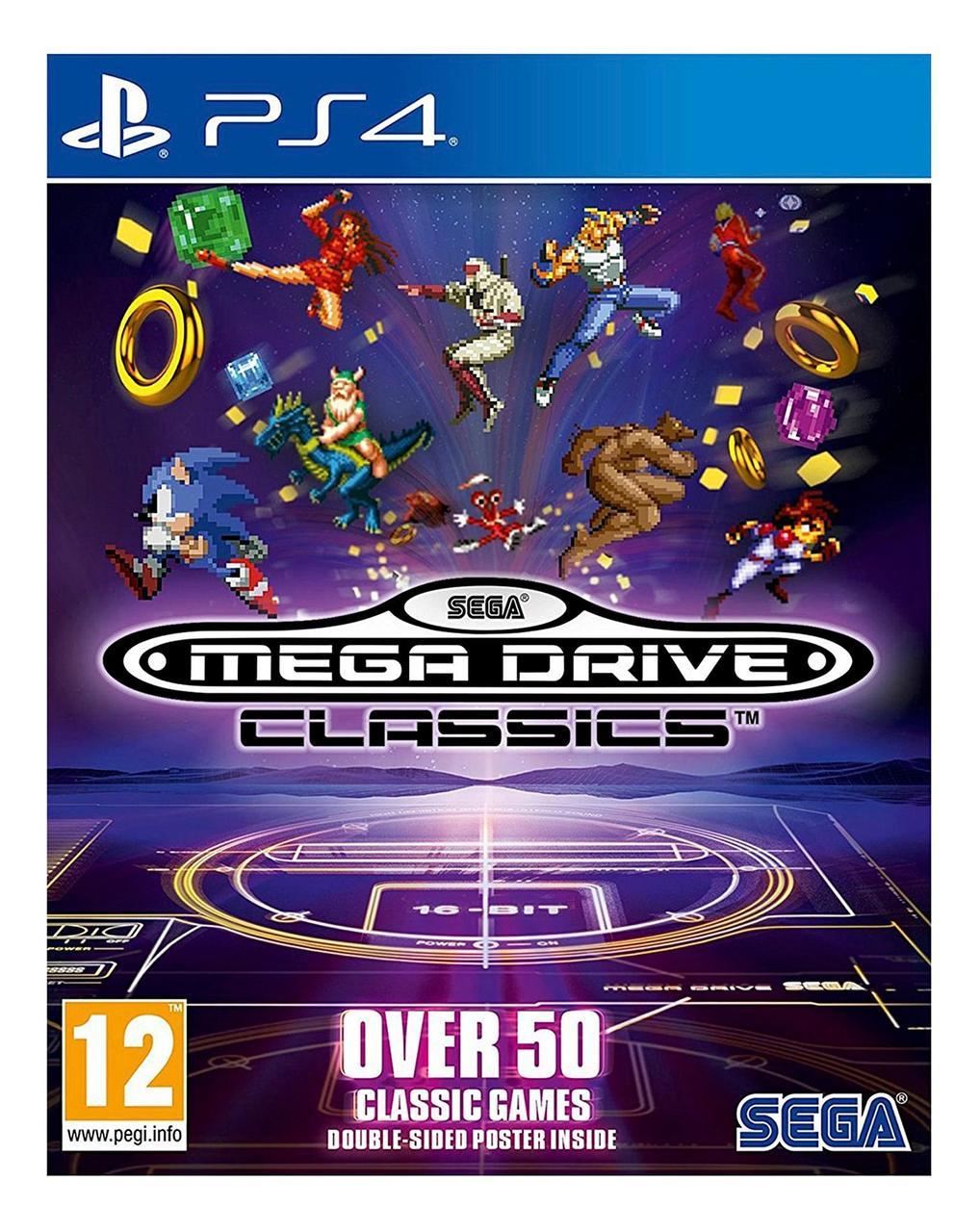 SEGA Mega Drive Classic Collection (англійська версія) PS4