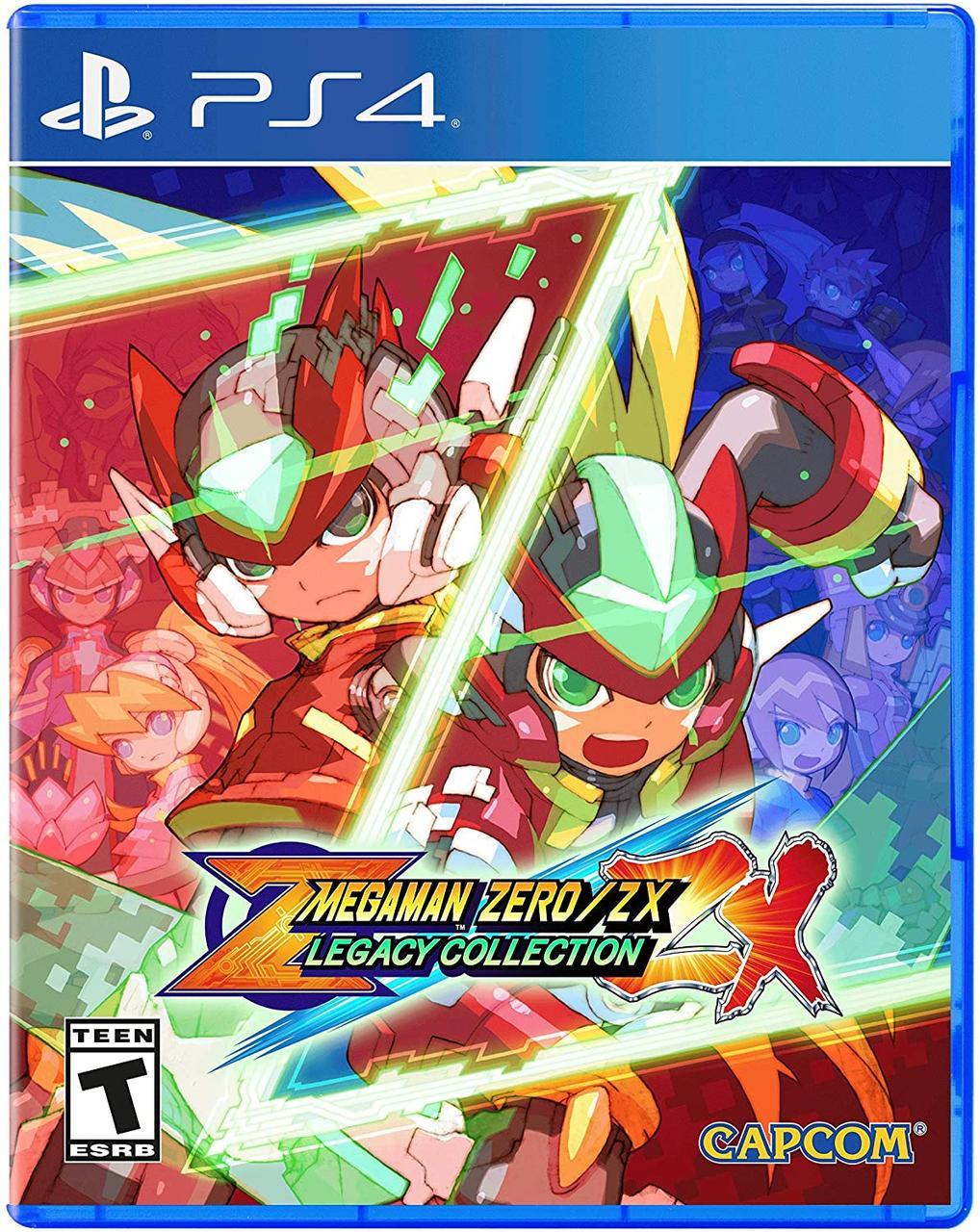 Mega Man Zero/Zx Legacy Collection (англійська версія) PS4
