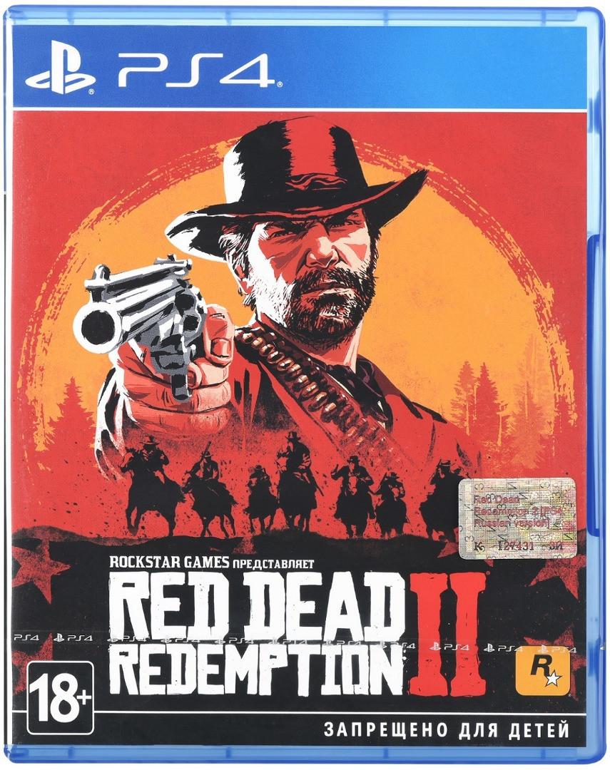 Red Dead Redemption 2 (англійська версія) PS4