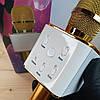 Беспроводной bluetooth караоке микрофон DM Q7 Karaoke Gold, фото 4