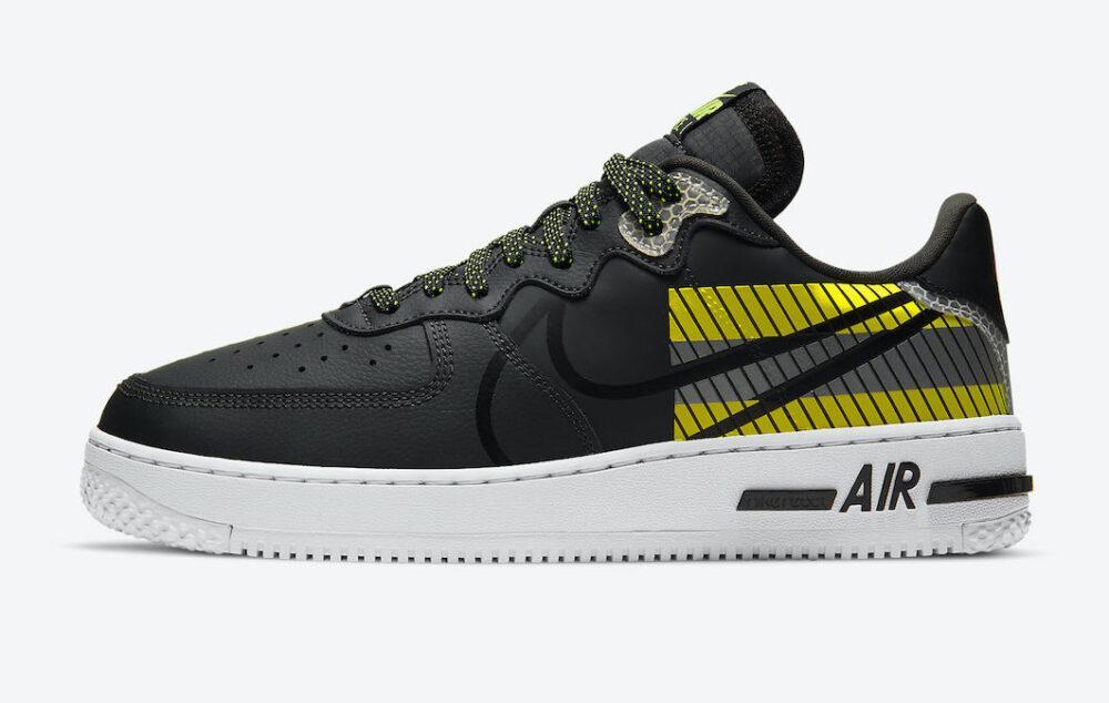 """Кроссовки Nike Air Force x 3M """"Черные/Белые"""""""