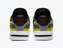 """Кроссовки Nike Air Force x 3M """"Черные/Белые"""", фото 3"""
