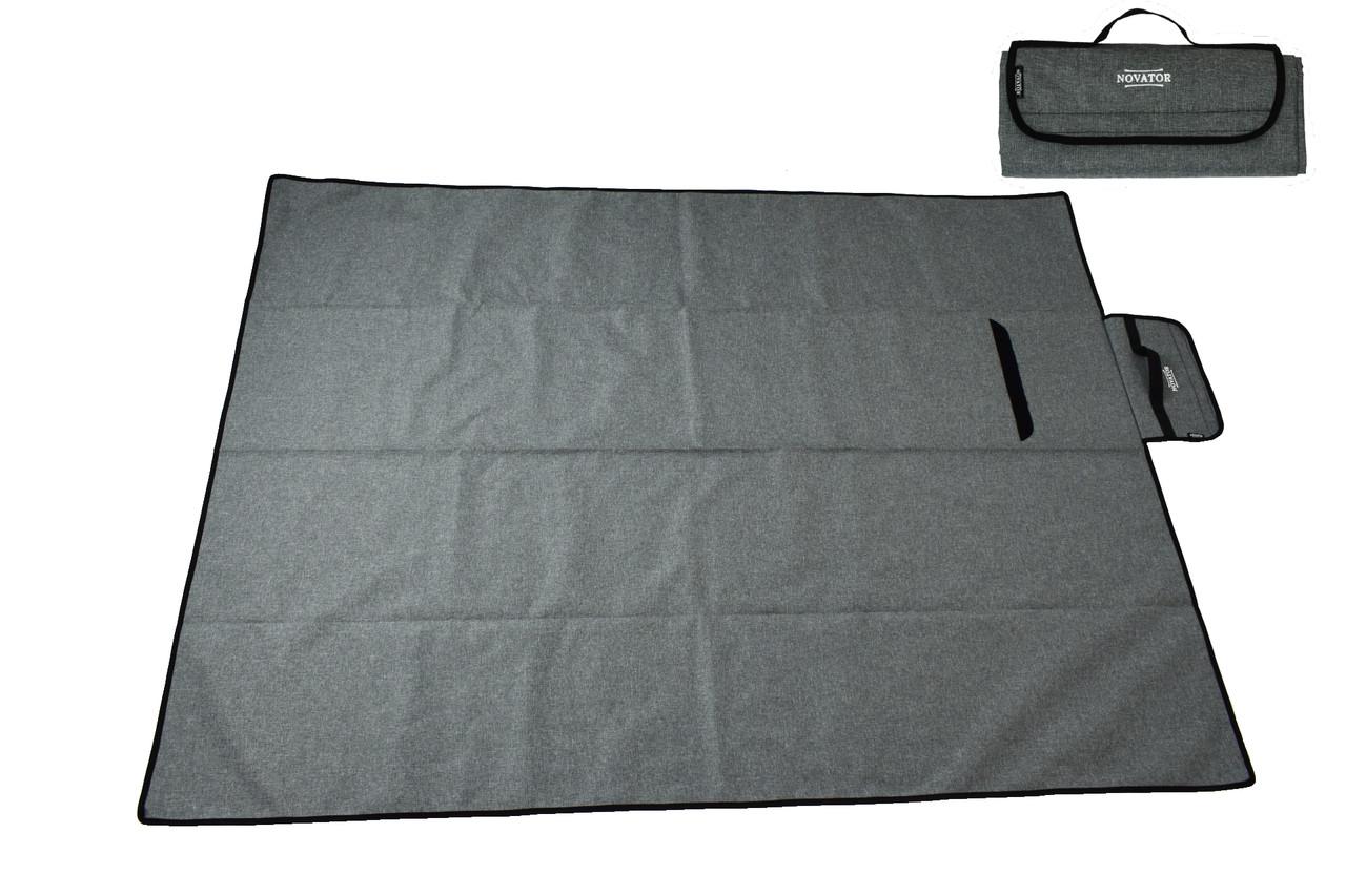 Коврик для кемпінга Novator Picnic Grey 200х150 см