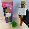 Беспроводной bluetooth караоке микрофон DM Q7 Karaoke Gold, фото 2