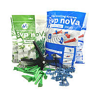 Комплект noVa SVP (1000 Оснований 1мм  +300 Клиньев + Инструмент), фото 1