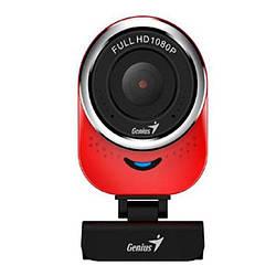 Веб-камера 2.0 Мп з мікрофоном Genius QCam Red 6000