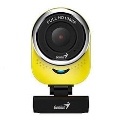 Веб-камера 2.0 Мп з мікрофоном Genius QCam 6000 Yellow