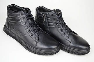 Ботинки Corso Vito 3439626 44 Черные кожа, фото 3