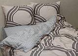 Евро-макси комплект постельного белья с компаньоном S354, фото 2