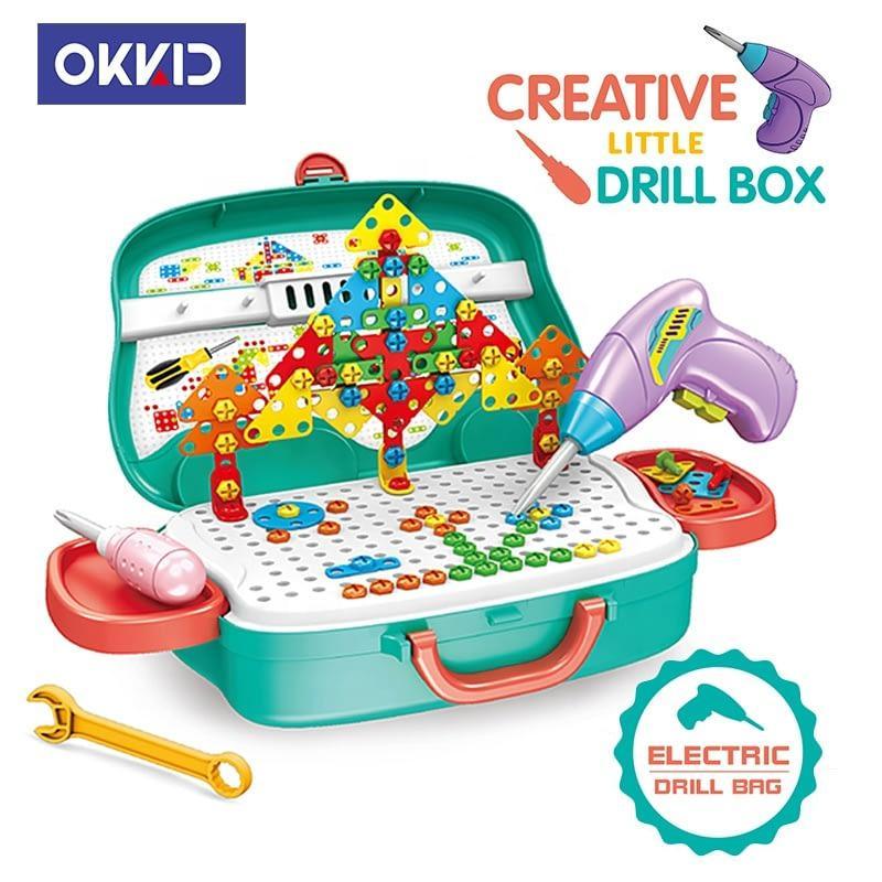 Детский набор в чемодане Creative Little Drill Box 678-109