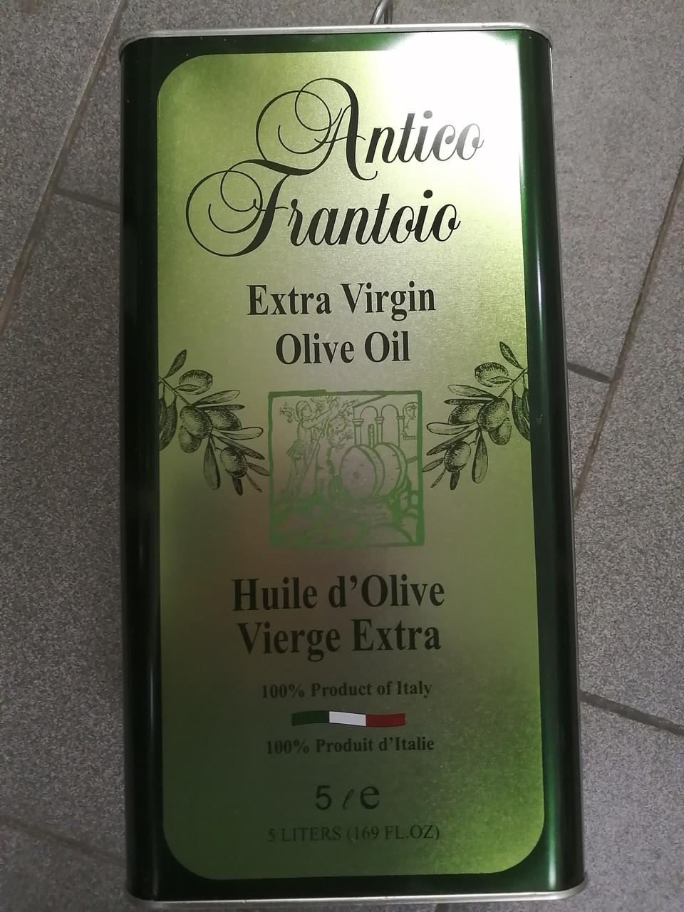 Масло оливковое 5 л. Antico Frantico