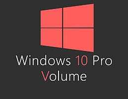 Windows 10 Pro Volume