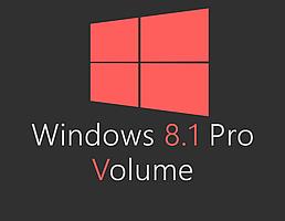 Windows 8.1 Pro Volume