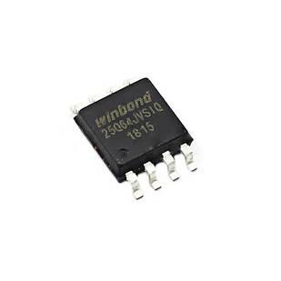 Чип W25Q64 W25Q64JVSIQ SOP8, 64Мб Flash SPI