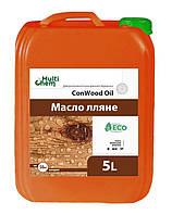 Масло льняное для древесины. ConWood Oil, 5 л.