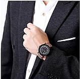 Наручные часы с коричневым ремешком, фото 2