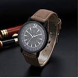 Наручные часы с коричневым ремешком, фото 4