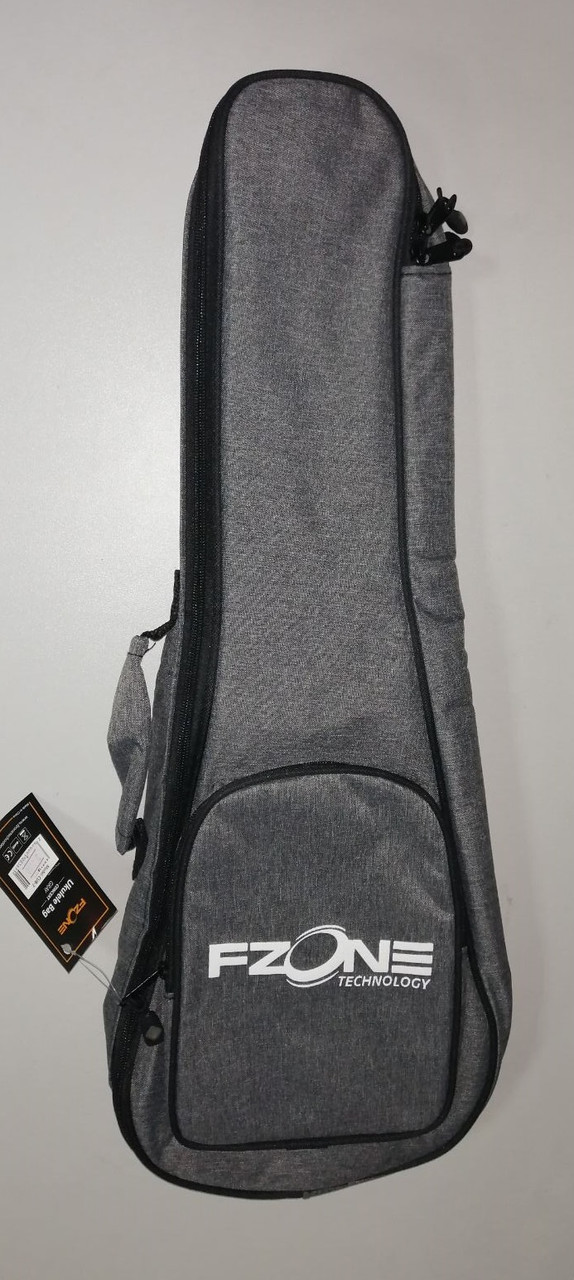 Чохол для укулеле концерт FZONE CUB7 (Grey)