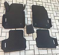 Комплект EVA ковриков с бортиками 5 см в салон для Chevrolet Cruze 2009+ c 4 шильдиками. В наличии.(Ева, эва)