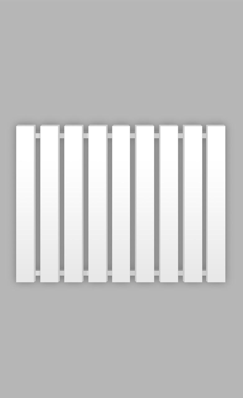Полотенцесушитель Genesis-Aqua Batteria 120x60 см, білий