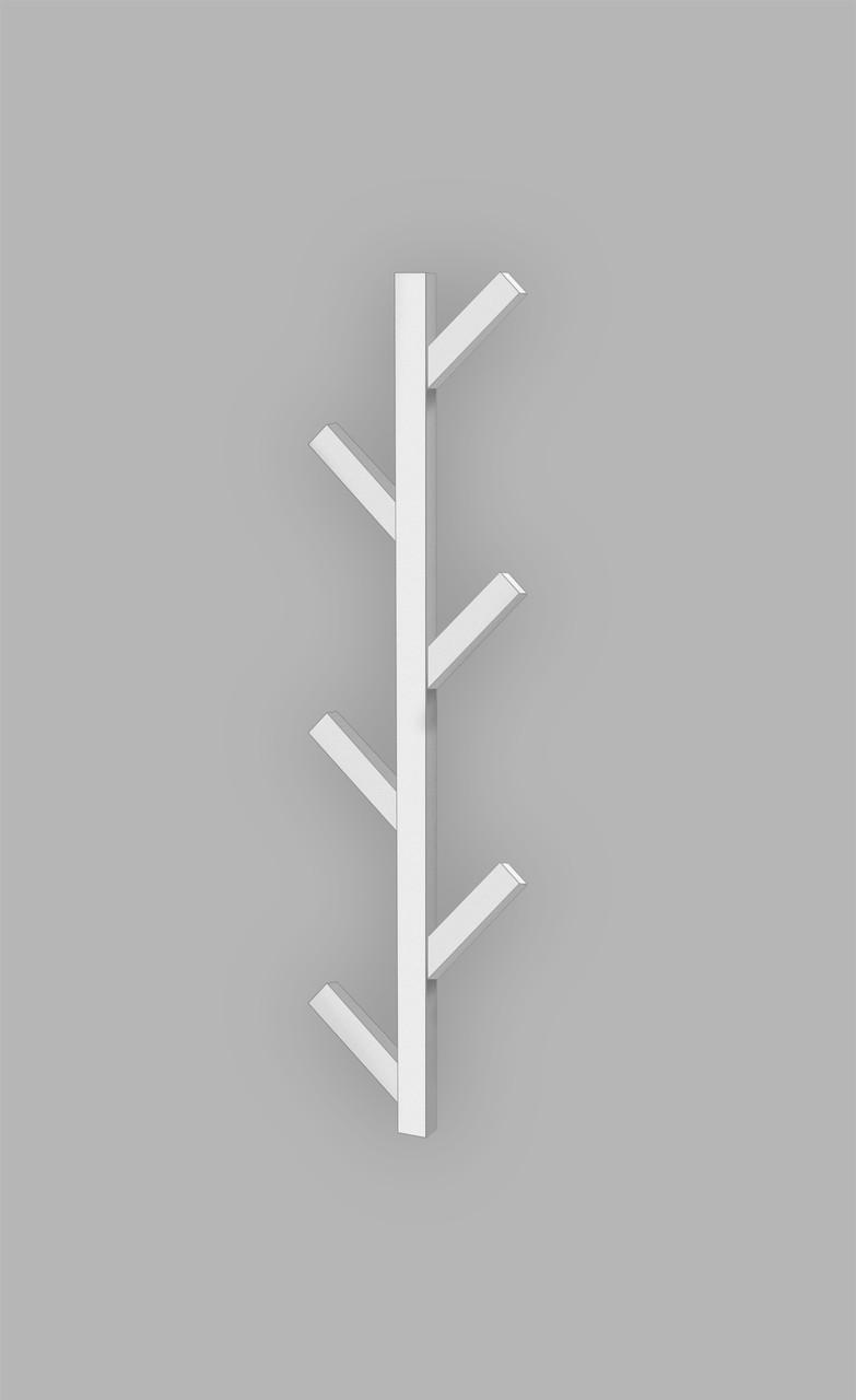 Электрический полотенцесушитель Genesis-Aqua Albero 100 см, белый