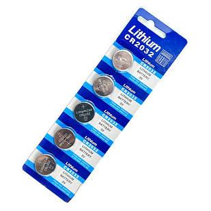 5x Батарейка таблетка CR2032, 5004LC L14, Lithium литий