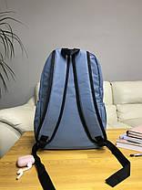 Рюкзак портфель женский синий (есть другие цвета), фото 3