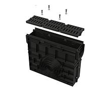 Пескоуловитель для дренажного канала AVZ104 с пластиковой рамой и решеткой А15