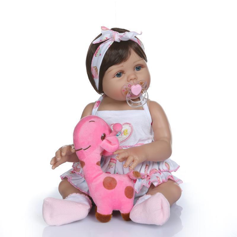 Силиконовая Коллекционная Кукла Реборн Reborn Девочка София ( Виниловая Кукла ) Высота 47 См Силиконовая Колл