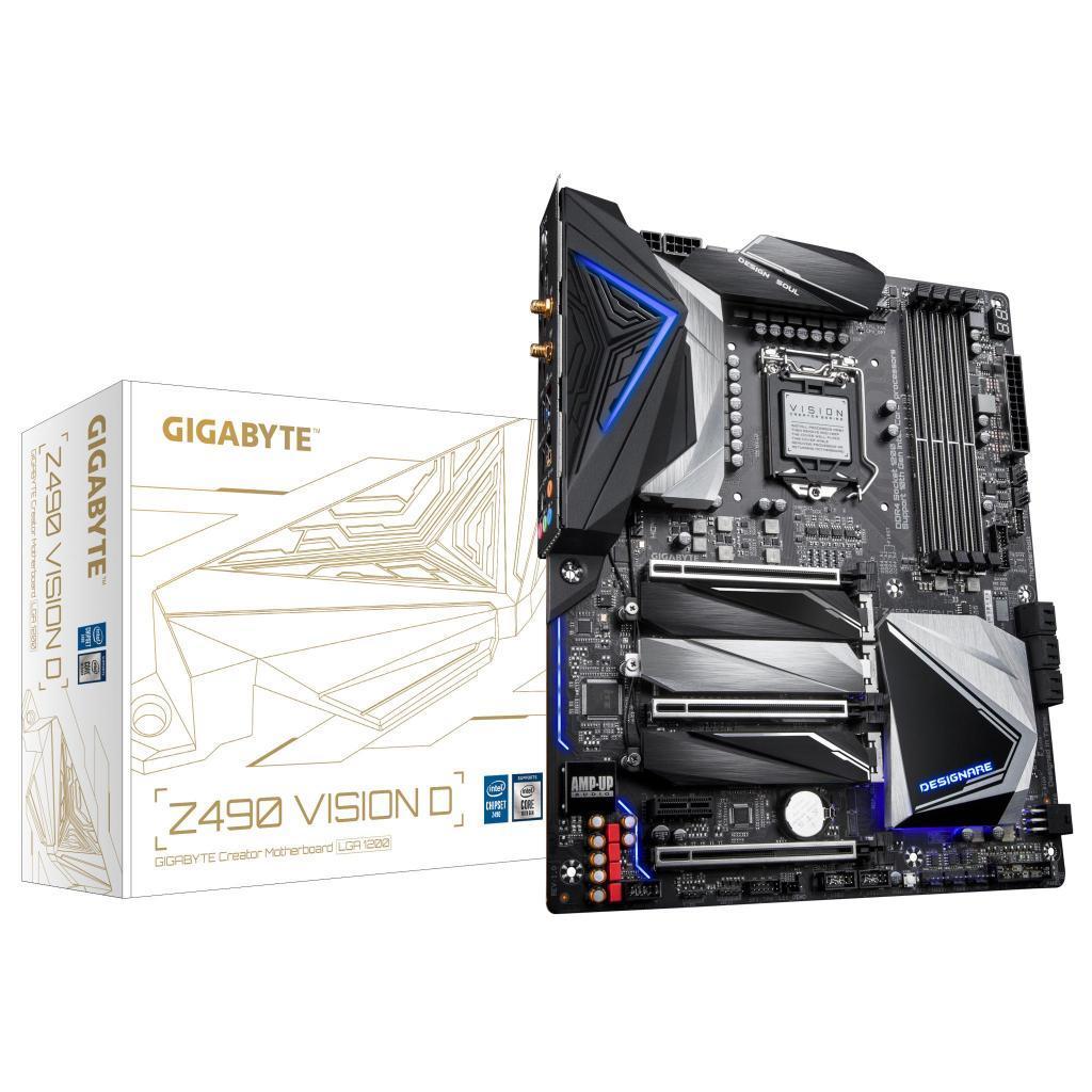 Материнская плата GIGABYTE Z490 VISION D