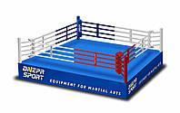 Боксерский ринг на помосте 7,8*7,8м, канаты 6,1*6,1м., фото 1