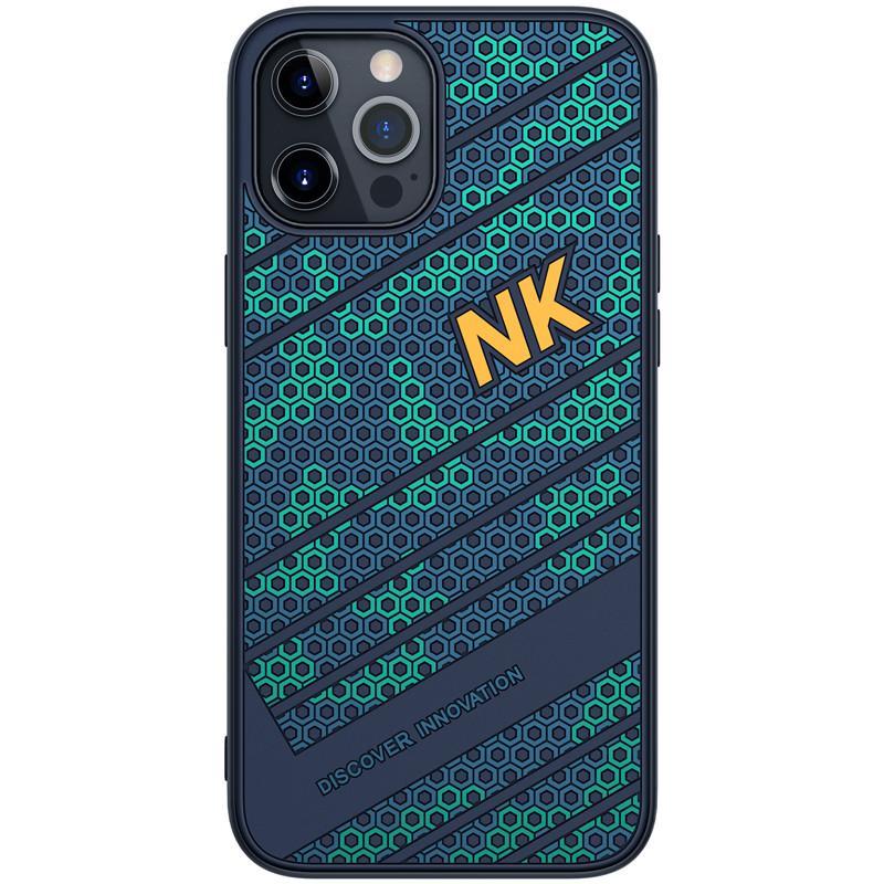"Nillkin iPhone 12 Pro Max (6.7"") Striker Case Blue Чехол Бампер"