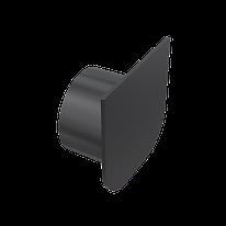 Заглушка торцевая для дренажного канала с возможностью подключения притока воды DN75